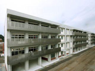 長崎北高校普通教室棟改築工事(1工区)