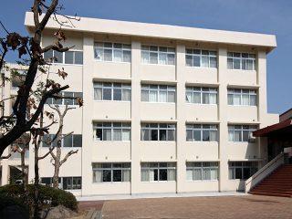 長崎西高管理教室棟改築工事